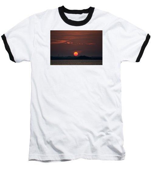 Sunset In Biloxi 2 Baseball T-Shirt