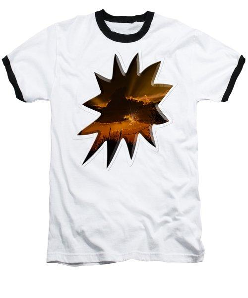 Sunset No.07 Baseball T-Shirt