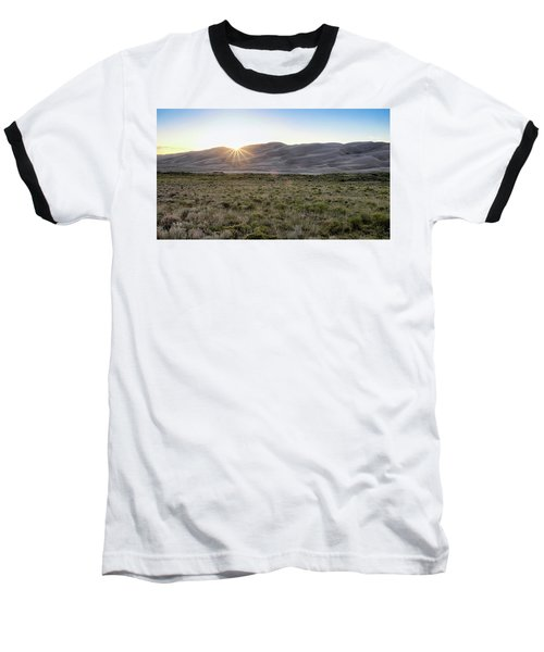 Sunset On The Dunes Baseball T-Shirt