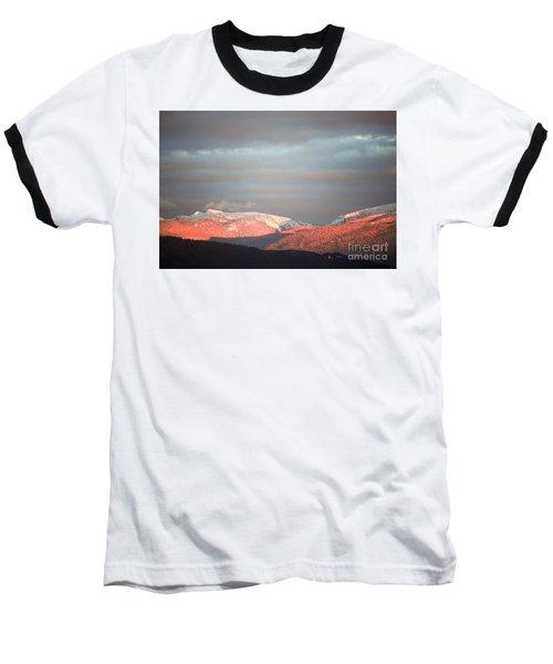Sunset On The Monashees Baseball T-Shirt