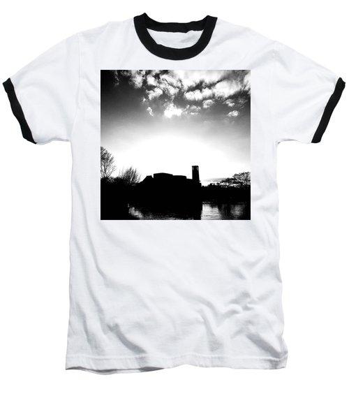 Sunset Over The Royal Shakespeare Company. Baseball T-Shirt