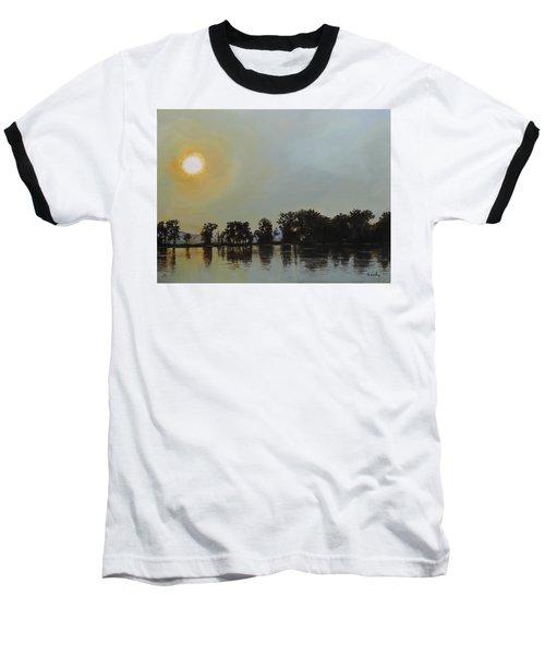 Sunset Ride Baseball T-Shirt