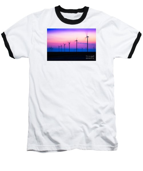 Sunset Spinning Baseball T-Shirt