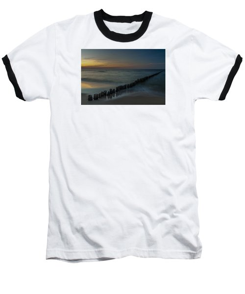 Sunset Zen Mood Seascape Baseball T-Shirt