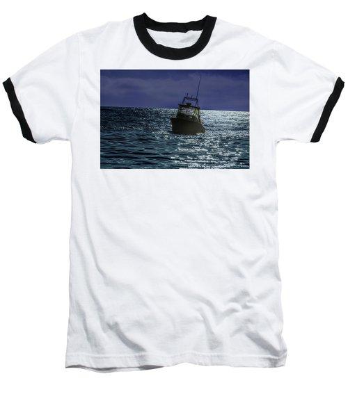 Sunsetting On Fisher Betting Baseball T-Shirt