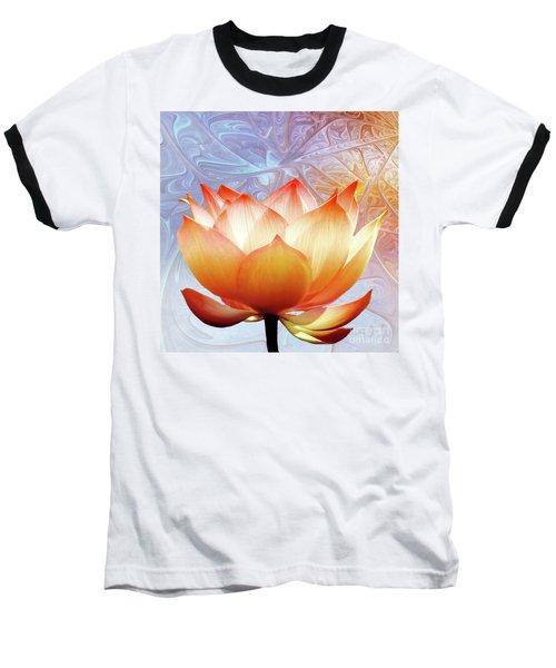 Sunshine Lotus Baseball T-Shirt