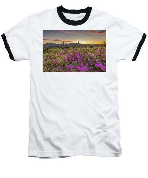 Baseball T-Shirt featuring the photograph Super Bloom Sunset by Peter Tellone