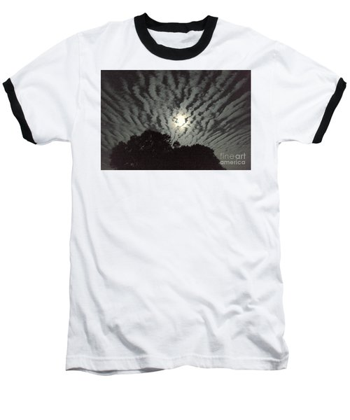 Super Moon Baseball T-Shirt by Irma BACKELANT GALLERIES