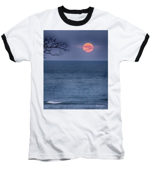Super Moon Waning Baseball T-Shirt