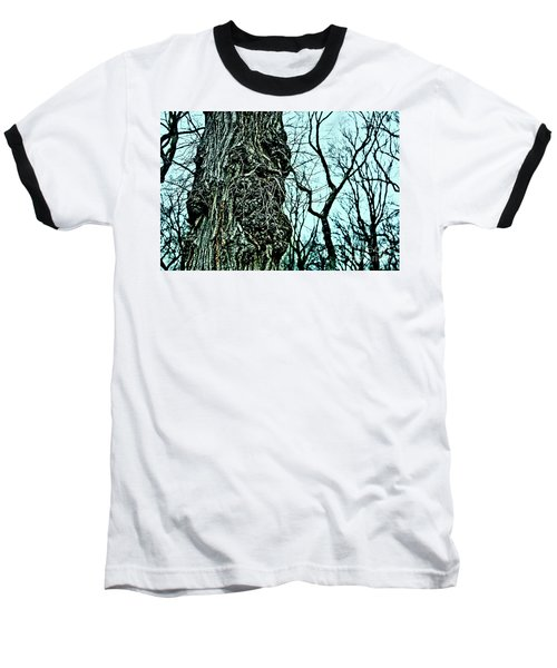 Baseball T-Shirt featuring the photograph Super Tree by Sandy Moulder