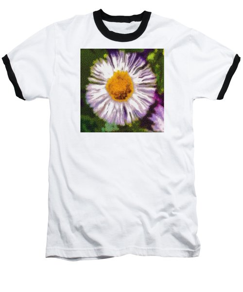 Baseball T-Shirt featuring the photograph Supernove Daisy by Spyder Webb