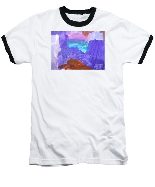 Surf By Hannah Baseball T-Shirt by Fred Wilson
