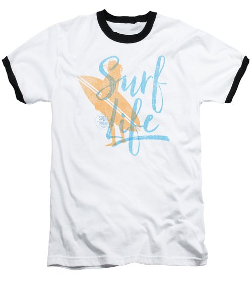Surf Life 2 Baseball T-Shirt by SoCal Brand