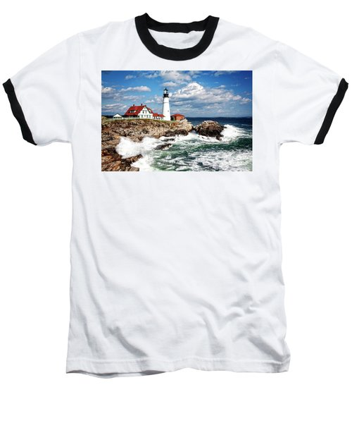 Surf Meets Land Baseball T-Shirt