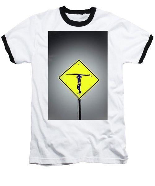 Surfer Girl #3 Baseball T-Shirt