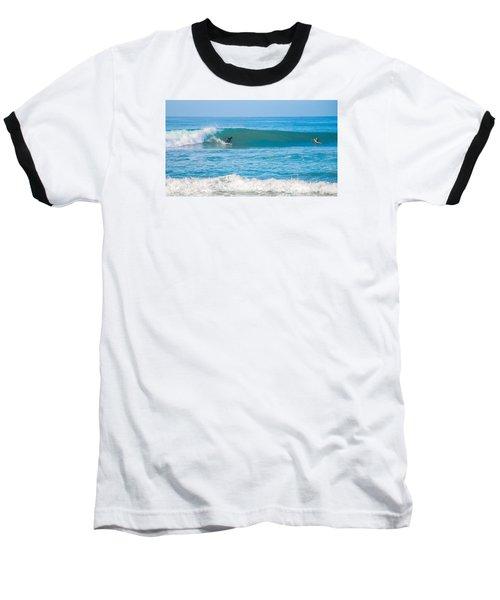 Surfing Baseball T-Shirt by Dorothy Cunningham