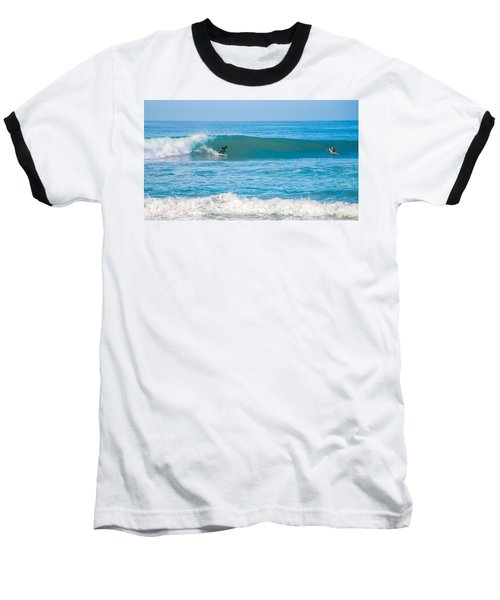 Surfing Baseball T-Shirt