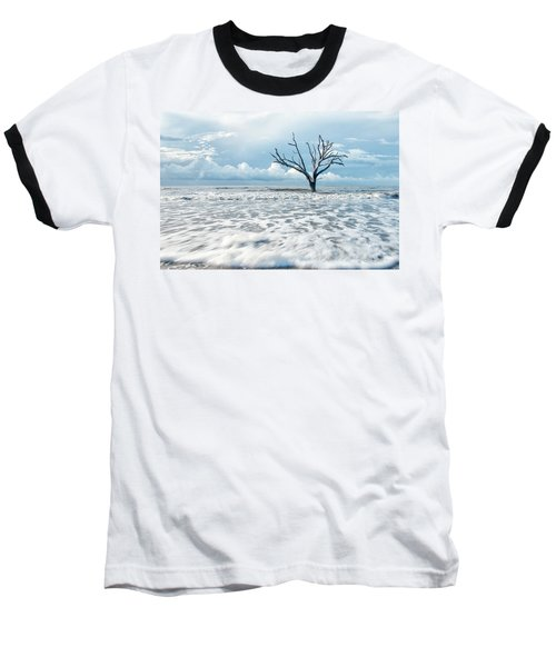 Surfside Tree Baseball T-Shirt by Phyllis Peterson