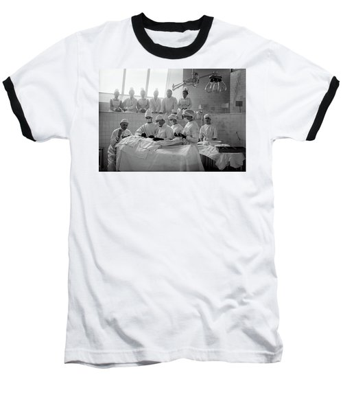 Baseball T-Shirt featuring the photograph Surgery Theater C. 1917 by Daniel Hagerman