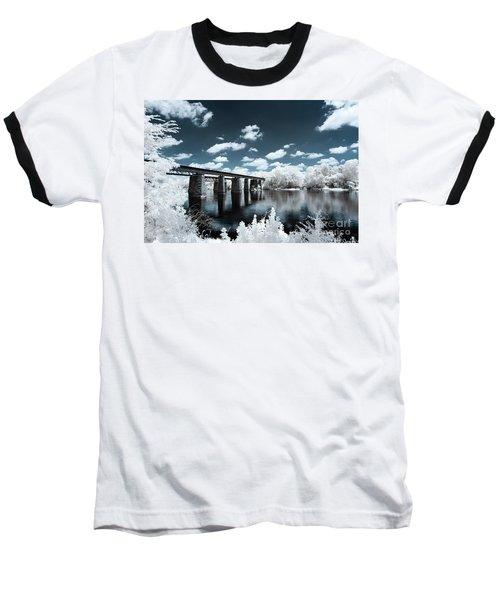 Surreal Crossing Baseball T-Shirt