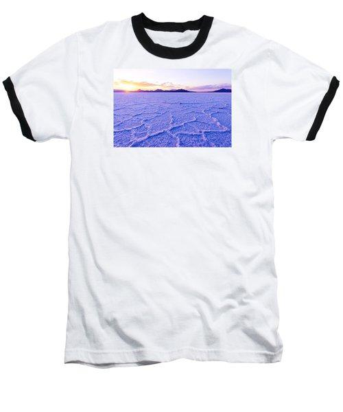 Surreal Salt Baseball T-Shirt by Chad Dutson