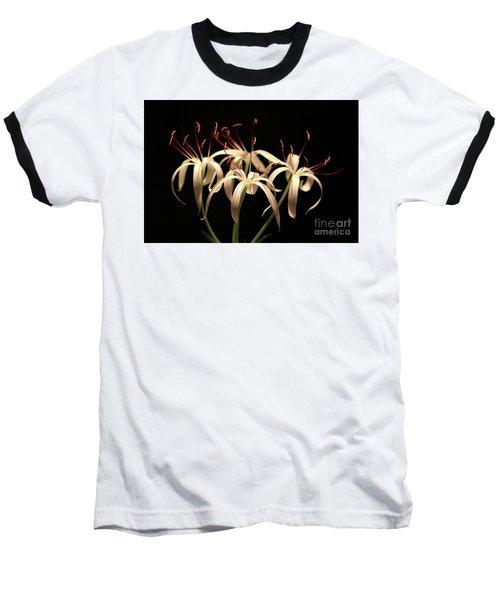 Swamp Lily Baseball T-Shirt