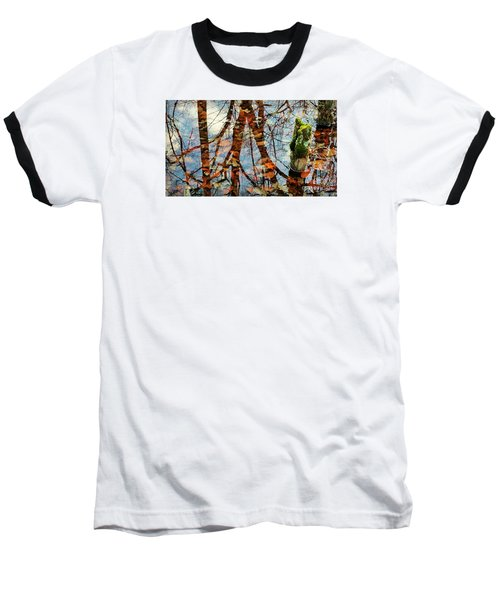 Swamp Reflections Baseball T-Shirt