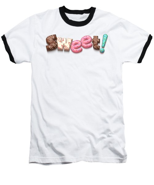 Sweet  Baseball T-Shirt by Mary Machare