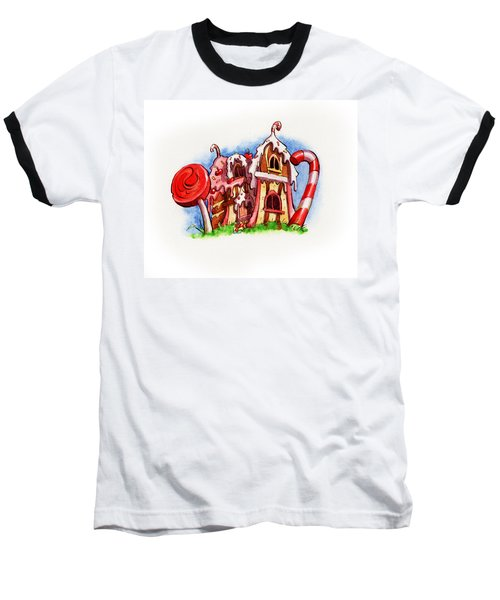 Sweety House Baseball T-Shirt