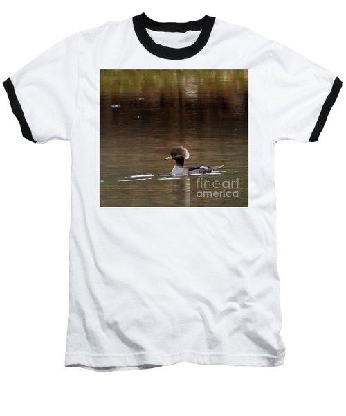 Swimming Alone Baseball T-Shirt