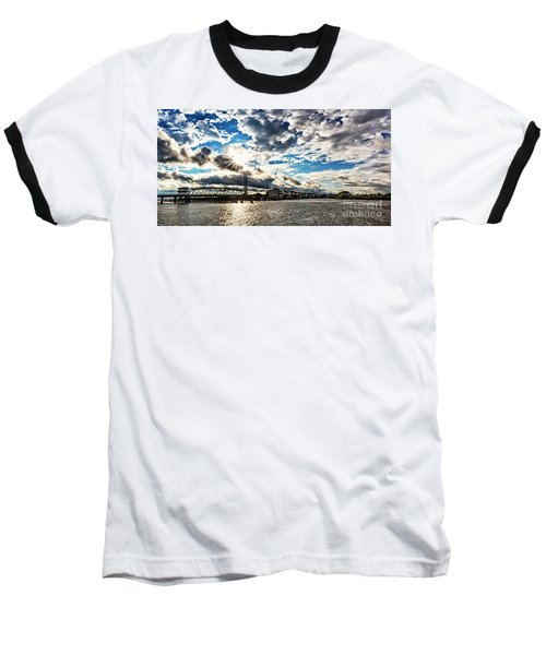 Swing Bridge Drama Baseball T-Shirt
