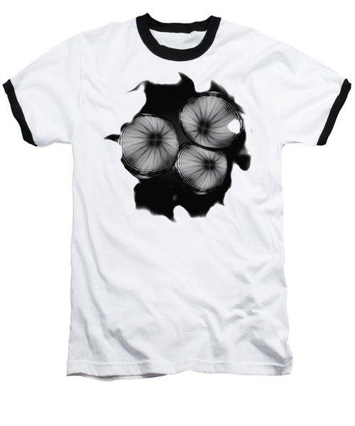 Swirly 1 Baseball T-Shirt