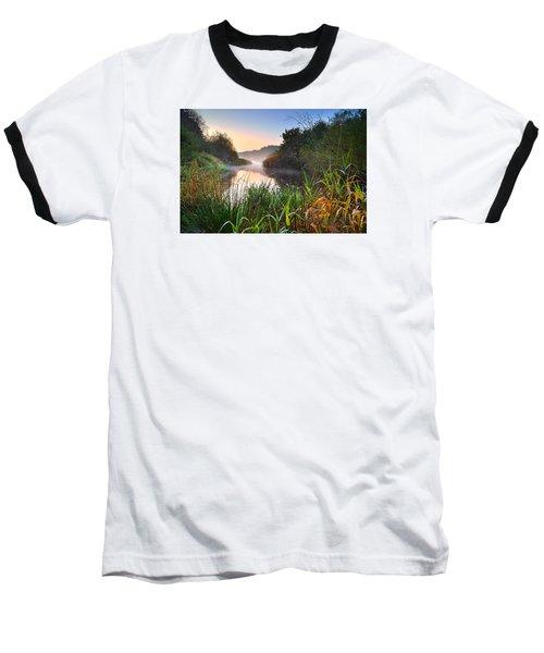 Swiss Valley Reservoir Baseball T-Shirt