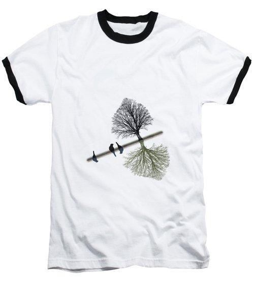 Switch Baseball T-Shirt by AugenWerk Susann Serfezi