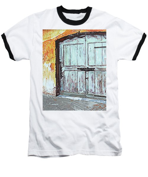 Switzerland Mint Door Baseball T-Shirt