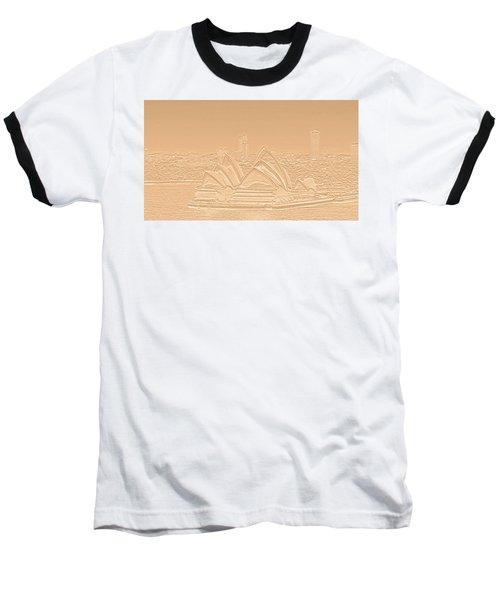 Sydney Opera House No. 17-2 Baseball T-Shirt