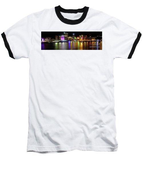 Sydney Skyline By Kaye Menner Baseball T-Shirt