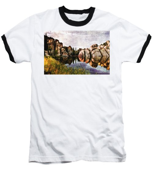 Sylvan Lake - Black Hills Baseball T-Shirt