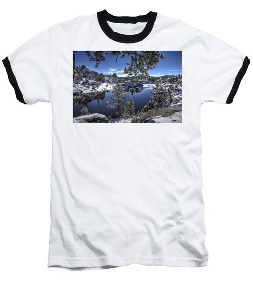 Sylvan Lake Baseball T-Shirt by Fiskr Larsen