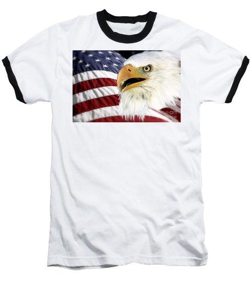 Symbol Of America Baseball T-Shirt