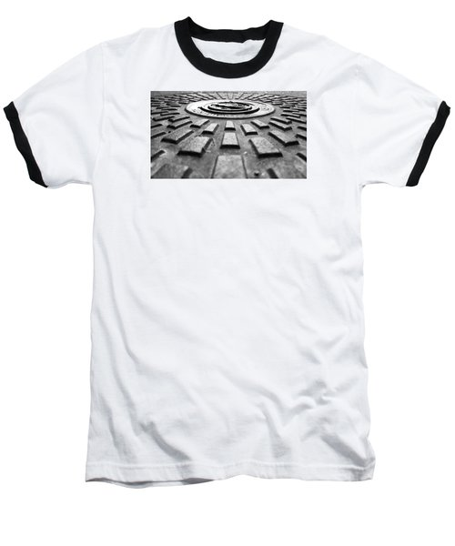 Symmetrical Baseball T-Shirt