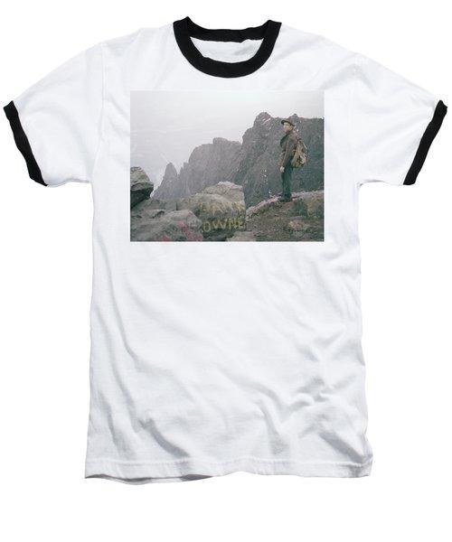 T-04701 Fred Beckey On Mt. Si 1958  Baseball T-Shirt