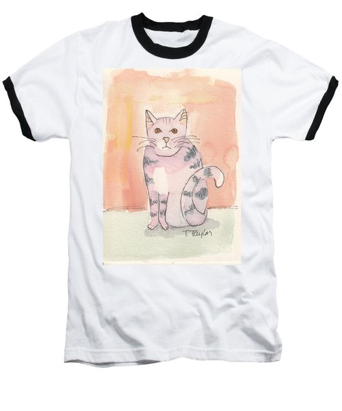 Tabby Baseball T-Shirt by Terry Taylor