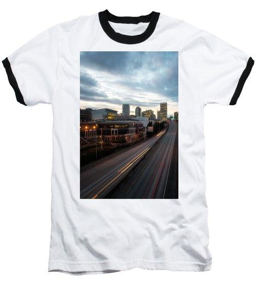 Tacoma Exit Here Baseball T-Shirt
