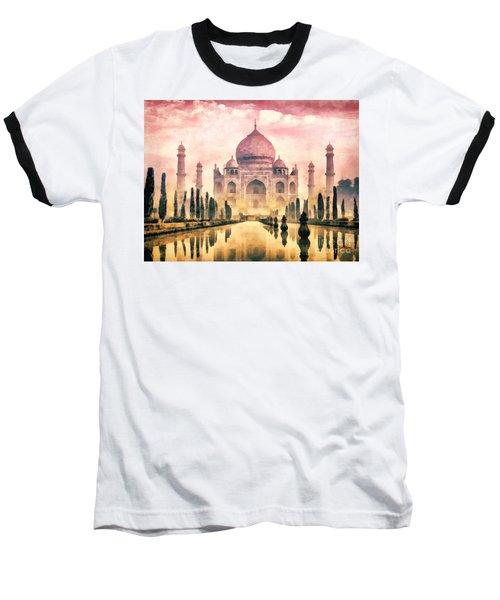 Taj Mahal Baseball T-Shirt
