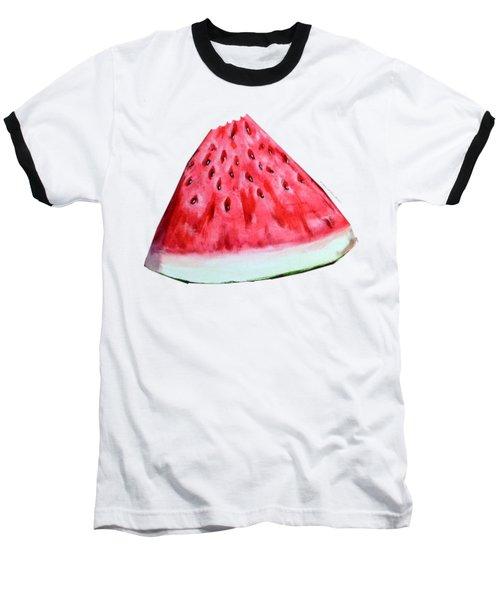 Take A Bite Baseball T-Shirt by Shana Rowe Jackson