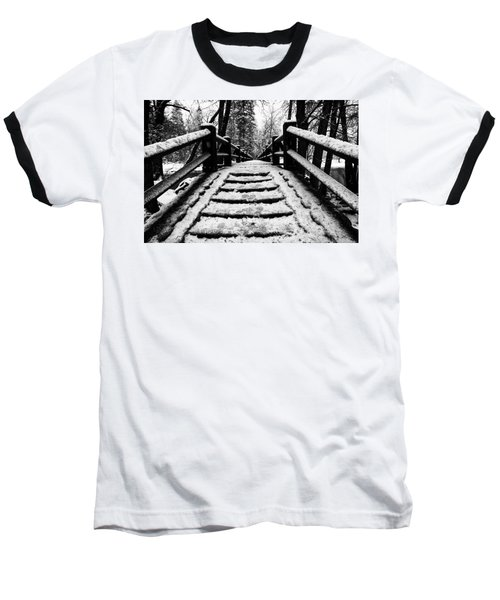 Baseball T-Shirt featuring the photograph Take A Walk With Me by Lora Lee Chapman