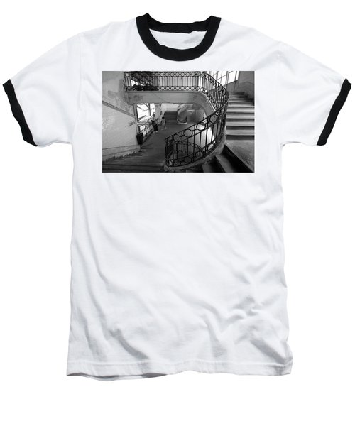 Taking A Photo Inside A Photo Baseball T-Shirt