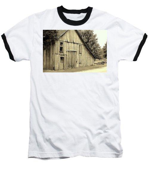 Tall Barn Baseball T-Shirt