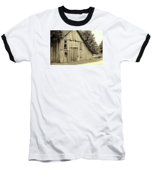 Tall Barn Baseball T-Shirt